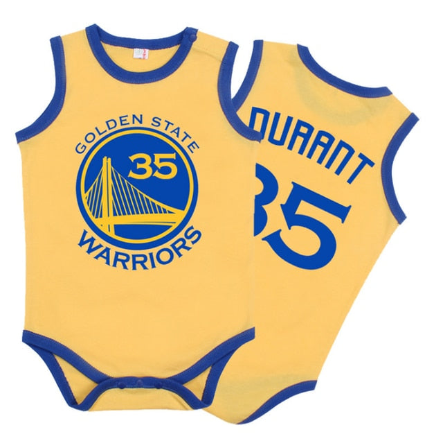 Basketball Jersery Rompers