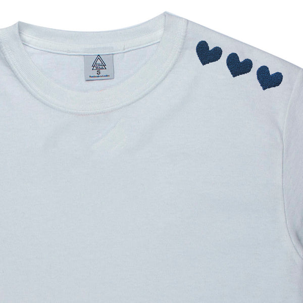 NHS Hearts E3 Tee (blue or white)