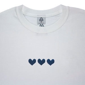 NHS Hearts B3 Tee (blue or white)
