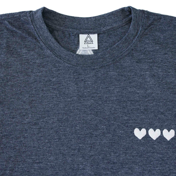 NHS Hearts C3 Tee (blue or white)