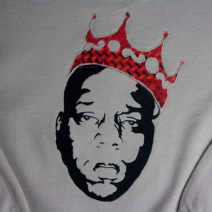 Biggie Smalls A1 Sweatshirt (sand, red)
