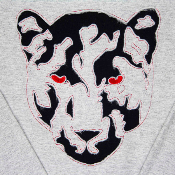 Black Panther A1 Sweatshirt (Ash, Red, Black)