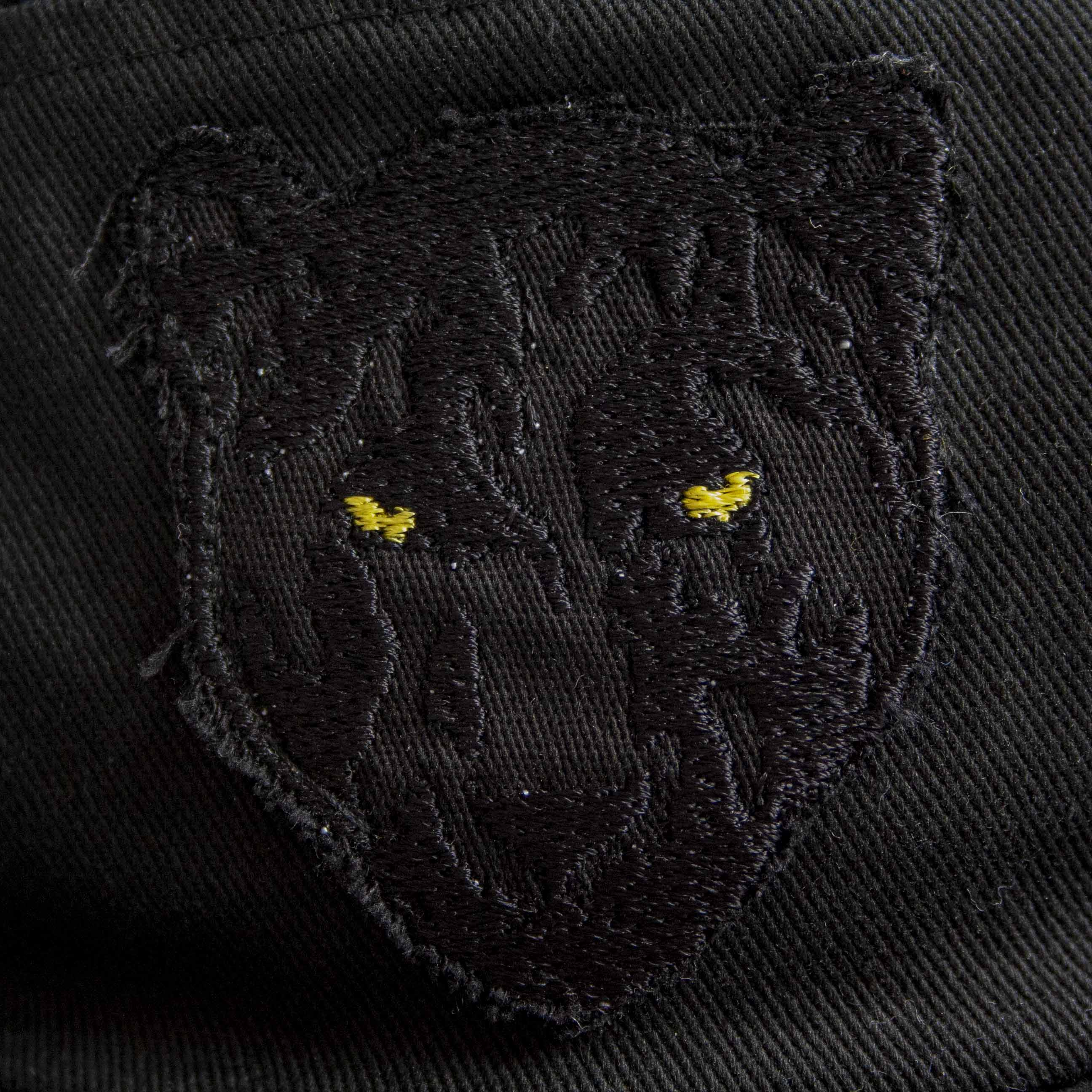 Black Panther 5 Panel Cap (Black)