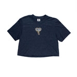 Elephant B3 Crop Tee (Blue, Vietnamese Blue)