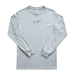 London Skyline B3 Top (grey, navy)