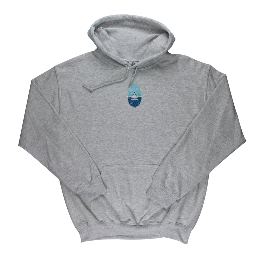 PILLmoi B4 Hoody (Ash, Blue)