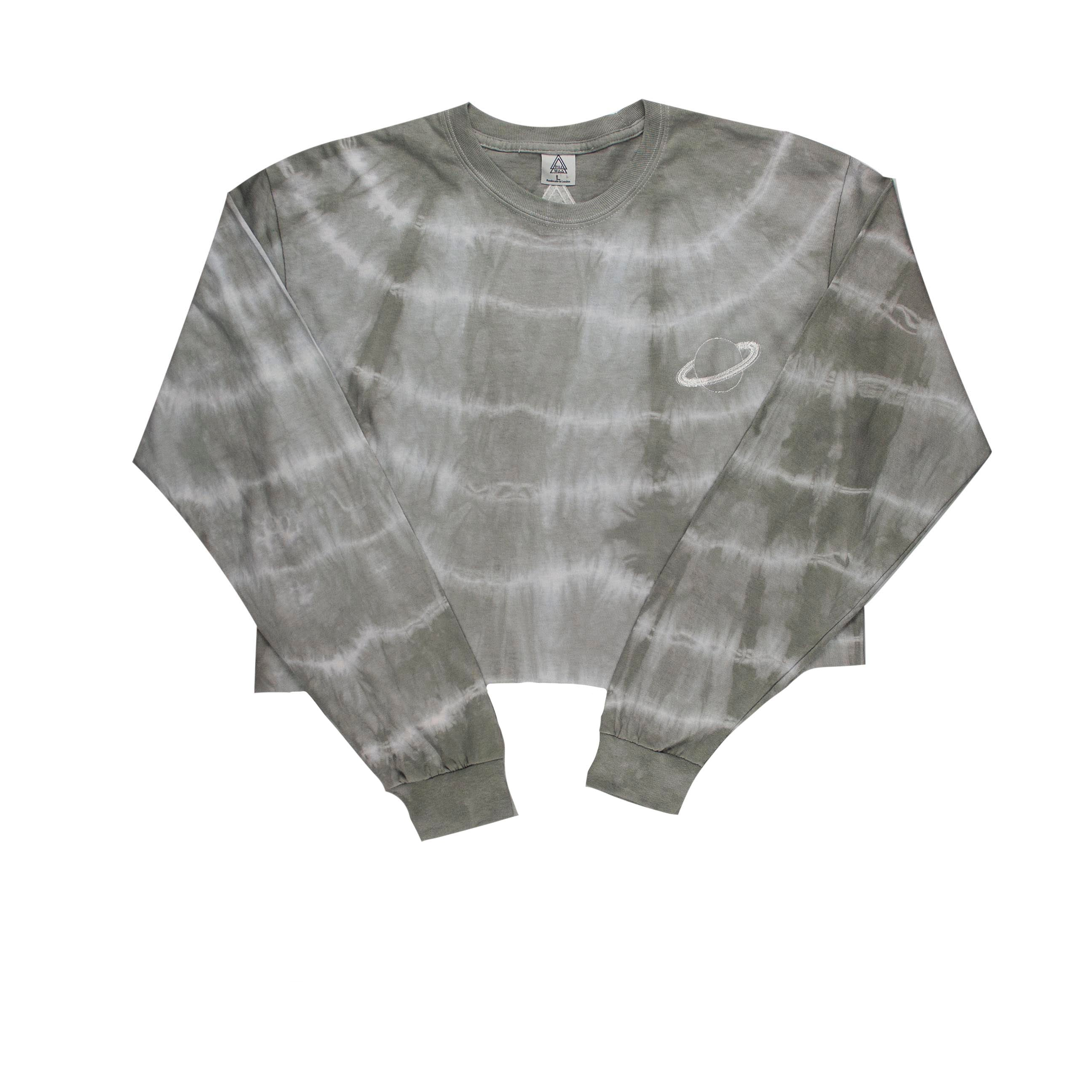 Planet C4 Top (Grey Tie Dye)