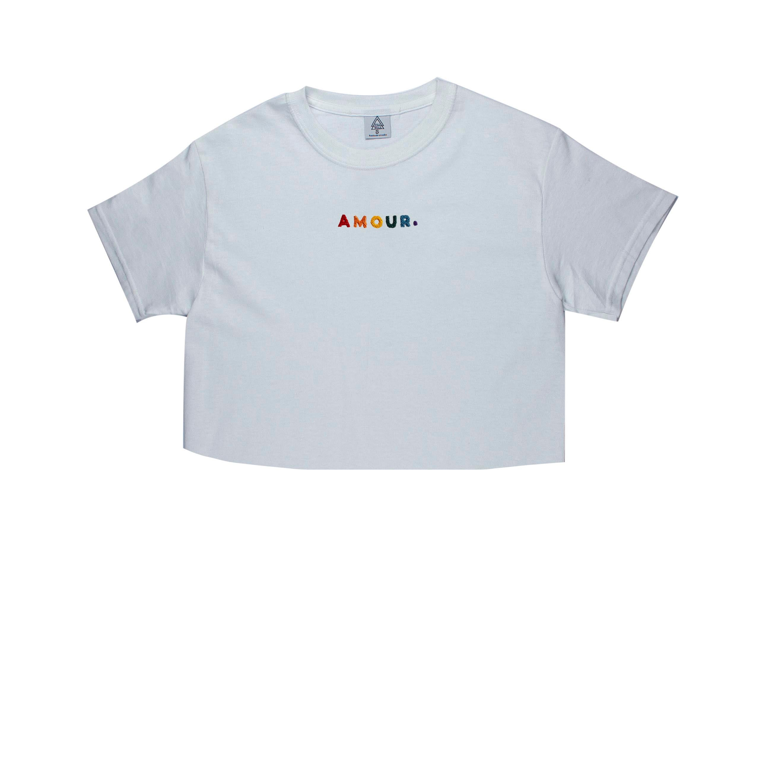 Pride Amour B3 Tee (white multi)