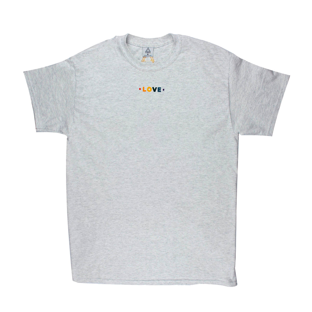 Pride Love B3 Tee (white or ash)