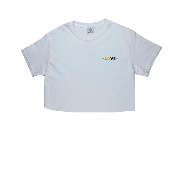 Pride Love C3 Tee (white or ash)