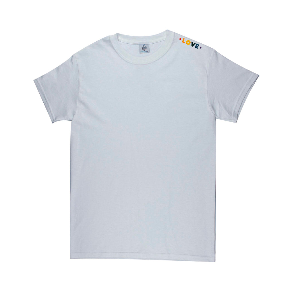 Pride Love E3 Tee (white or ash)