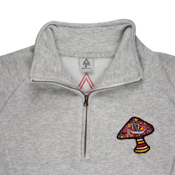 Shroom C4 Zip Up (Ash, Red)