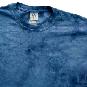 Tie Dye Tee BLUE (plain or embroidery of choice)