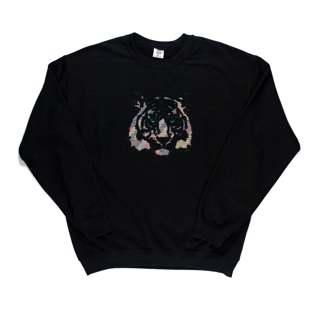 Tiger A2 Sweatshirt (Black, Pastel)