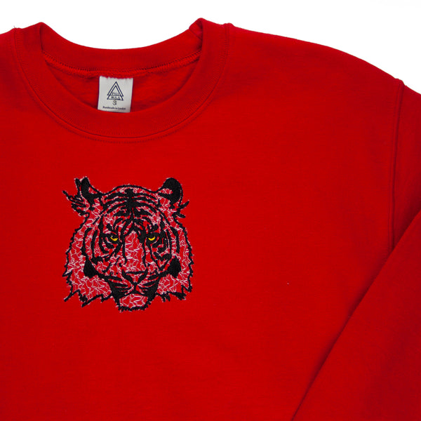 Tiger B2 Sweatshirt (Red, Mesh)