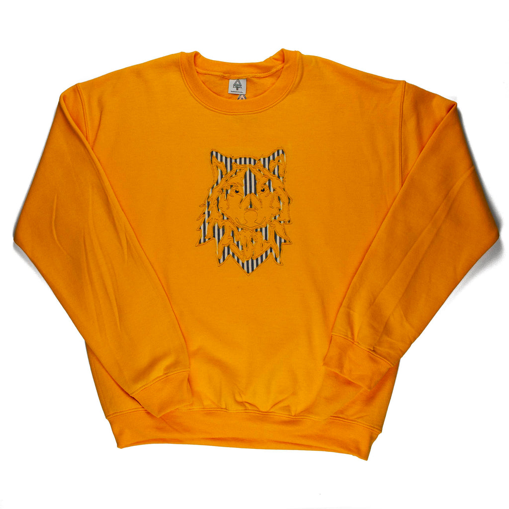 Wolf A1 Sweatshirt (Yellow, Blue, White)