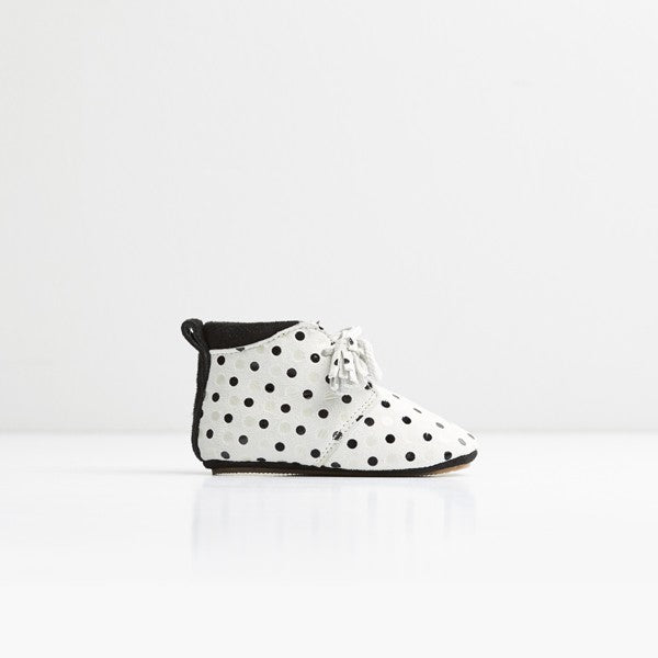 Saint-Polka Dots First Walker Shoes