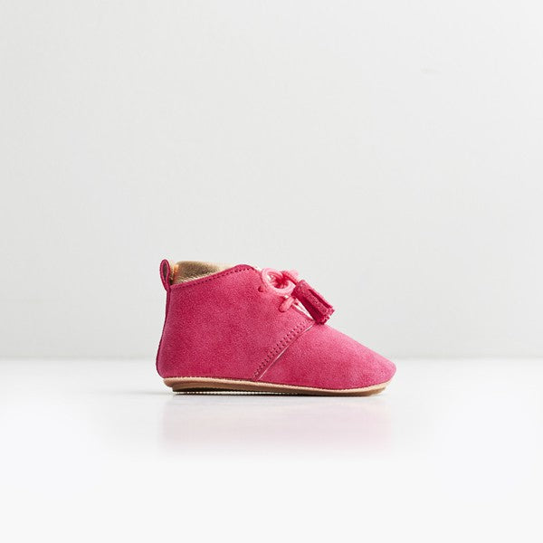 Saint -Pink First Walker Shoes