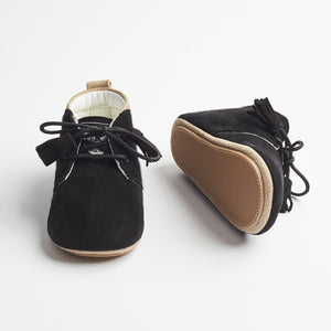 Saint-Black First Walker Unisex Shoes