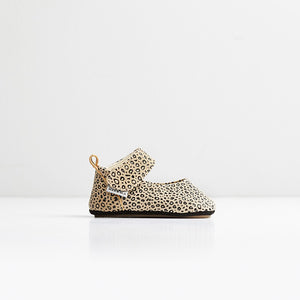 CANDY -Mini Leopard First Walker Mary Jane Shoes