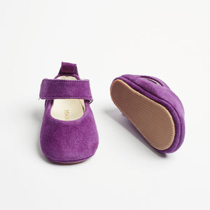 CANDY - Purple First Walker Mary Jane Shoes