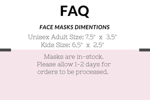 Disney Organic Face Mask with Filter Pocket and Nose Wire - Best Face Mask for Glasses Wearers