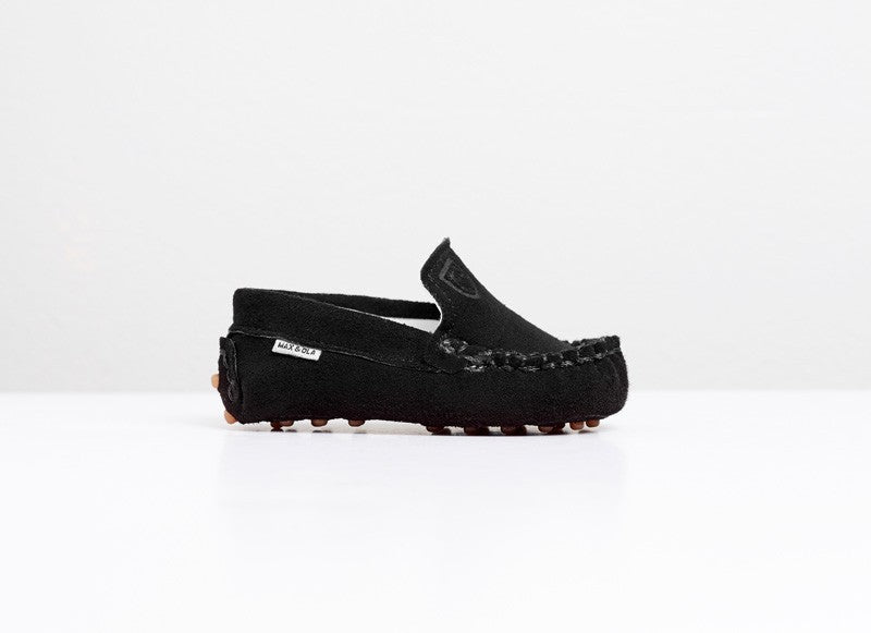 TOT MOCCASINS-Midnight Black
