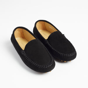 TOT  Moccasins-  BLACK Unisex Shoes