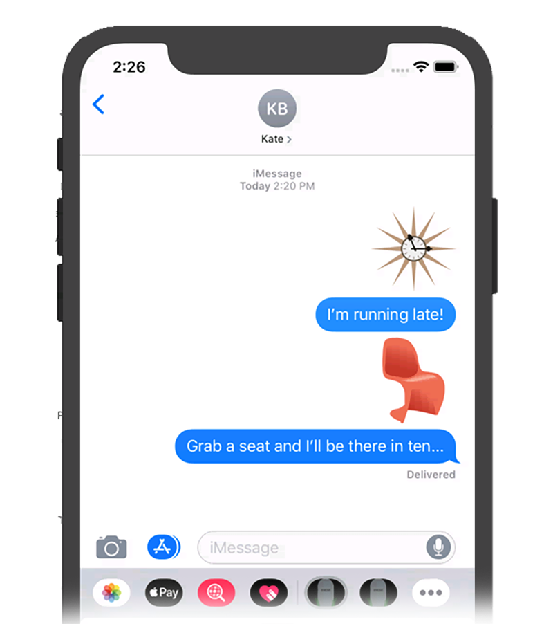 Give Your Text Messages a Midcentury Makeover – Death by