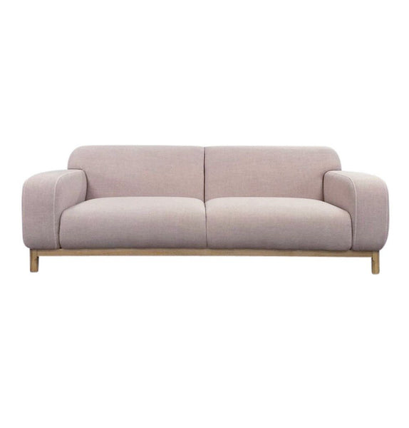 Elsa 3-Seater Sofa - Light Pink
