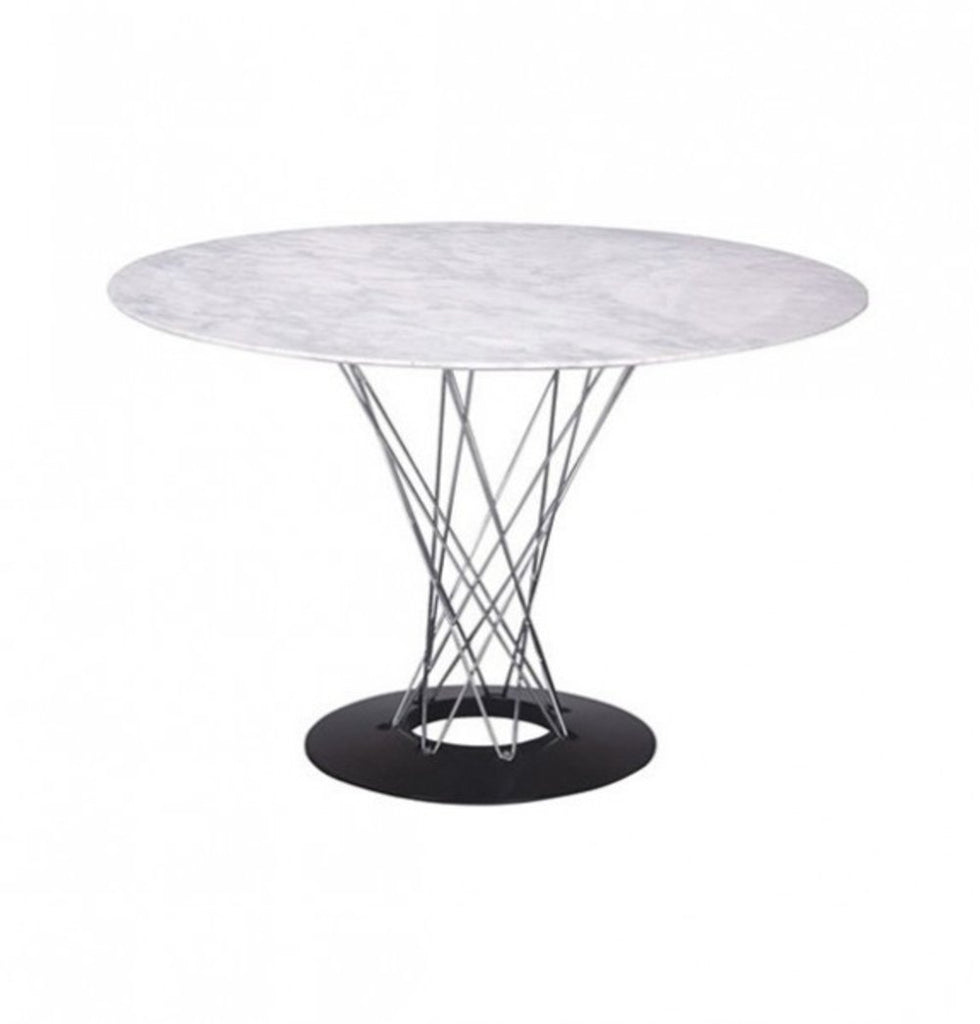 Malena Dining Table - White Marble Top