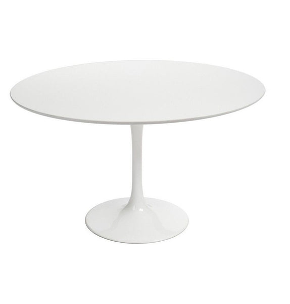 Tulip Dining Table - Round - Fiberglass Top - Reproduction