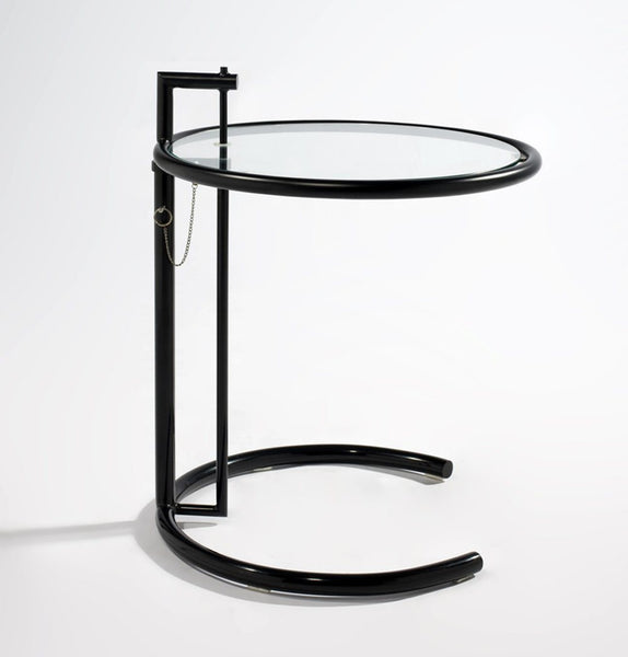 E1027 Side Table - Black - Reproduction