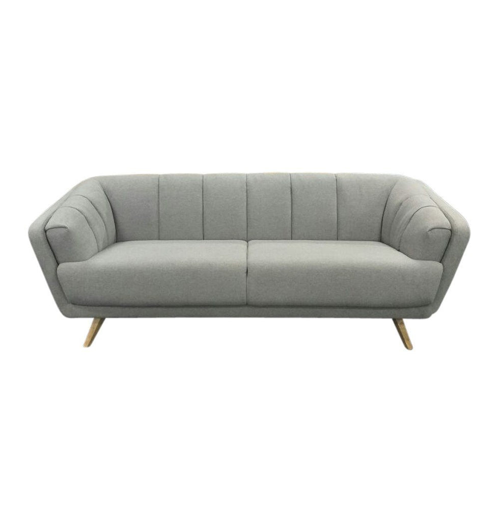 Alice 3-Seater Sofa - Light Grey