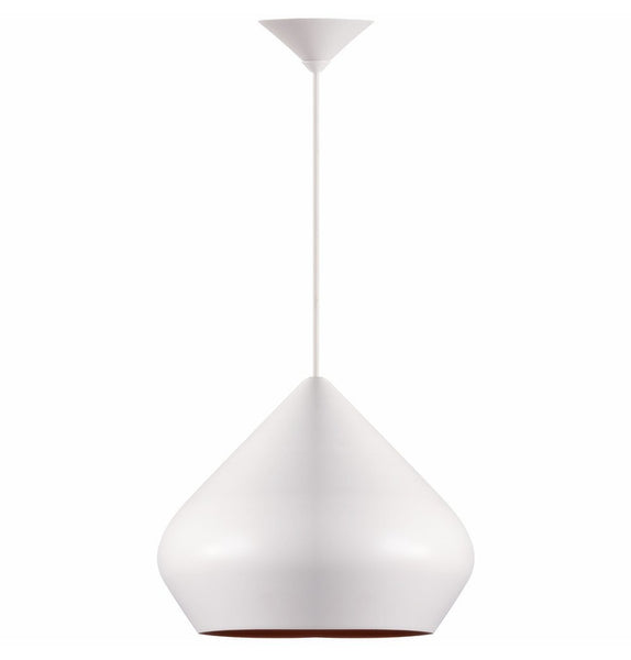 Beat Shade Stout Pendant Lamp - White - Reproduction