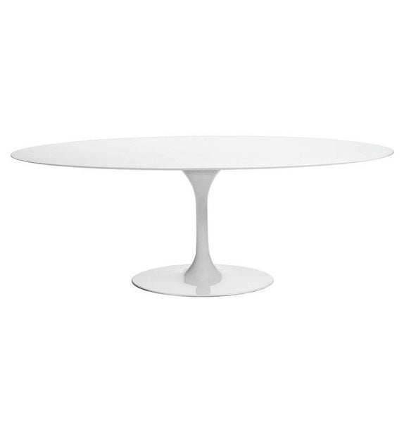 Tulip Dining Table - Oval - Fiberglass Lacquer Top - Reproduction
