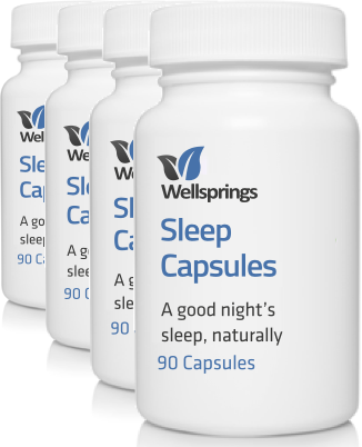 Wellsprings Sleep Capsules <br/>(4 Pack)