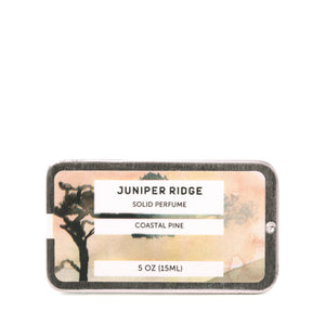 Juniper Ridge - Solid Perfume - Coastal Pine