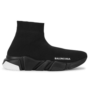 Balenciaga Speed Runner White Tab Black