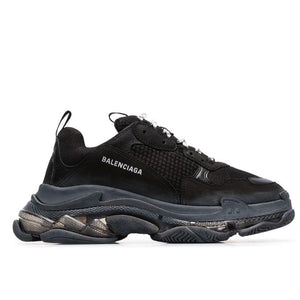 Balenciaga Triple S (W) Black Clear Sole