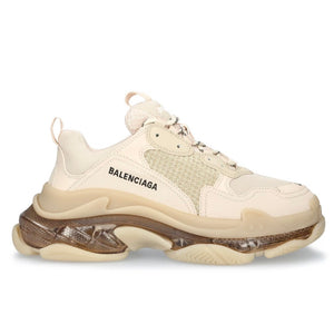 Balenciaga Triple S (W) Nude Clear Sole