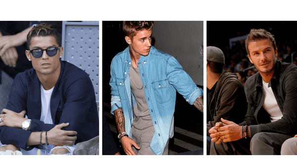 TOP TRENDY BRACELET STYLES WORN BY MALE CELEBRITIES