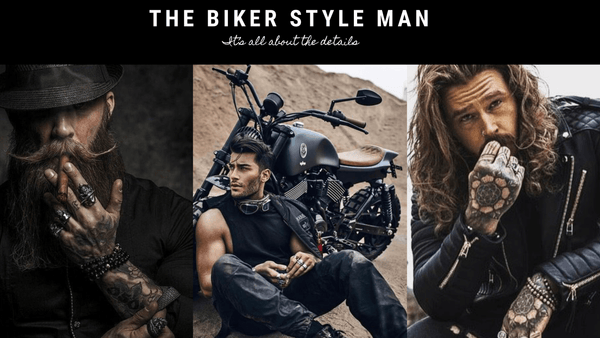 The Biker Style Man