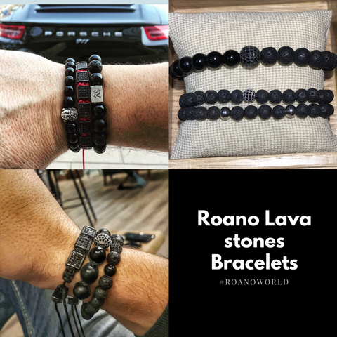 lava stone men jewelry in UAE