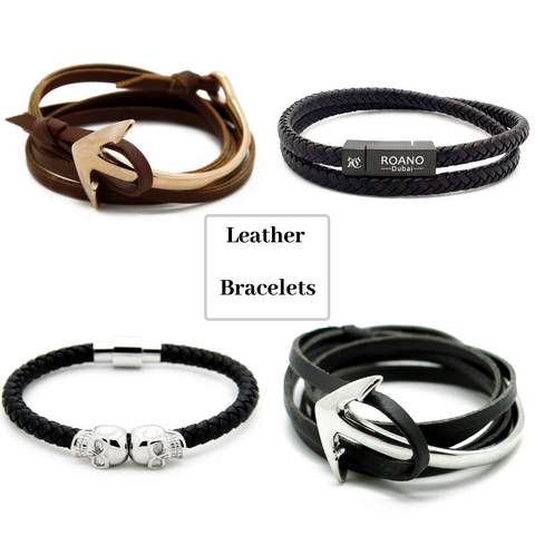 Genuine Leather Bracelets online