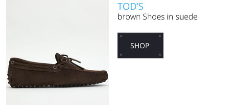 Tod's brown shoes