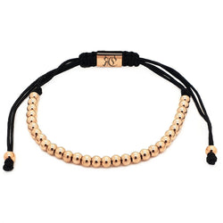 18k Rose Gold Plated Full Mini Ball Bracelet