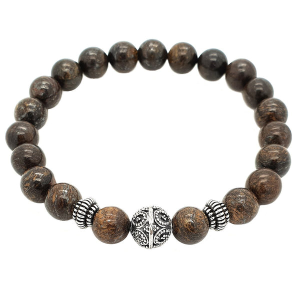Elegant Bronzite Stone Bracelet - Roano Collection