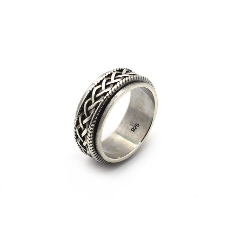 Celtic Spin Ring - Sterling Silver - Roano Collection