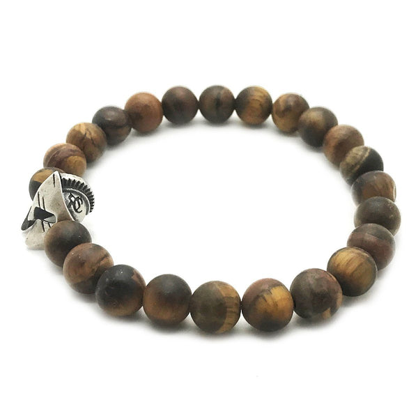 Spartan Tiger Eye Bracelet - Roano Collection